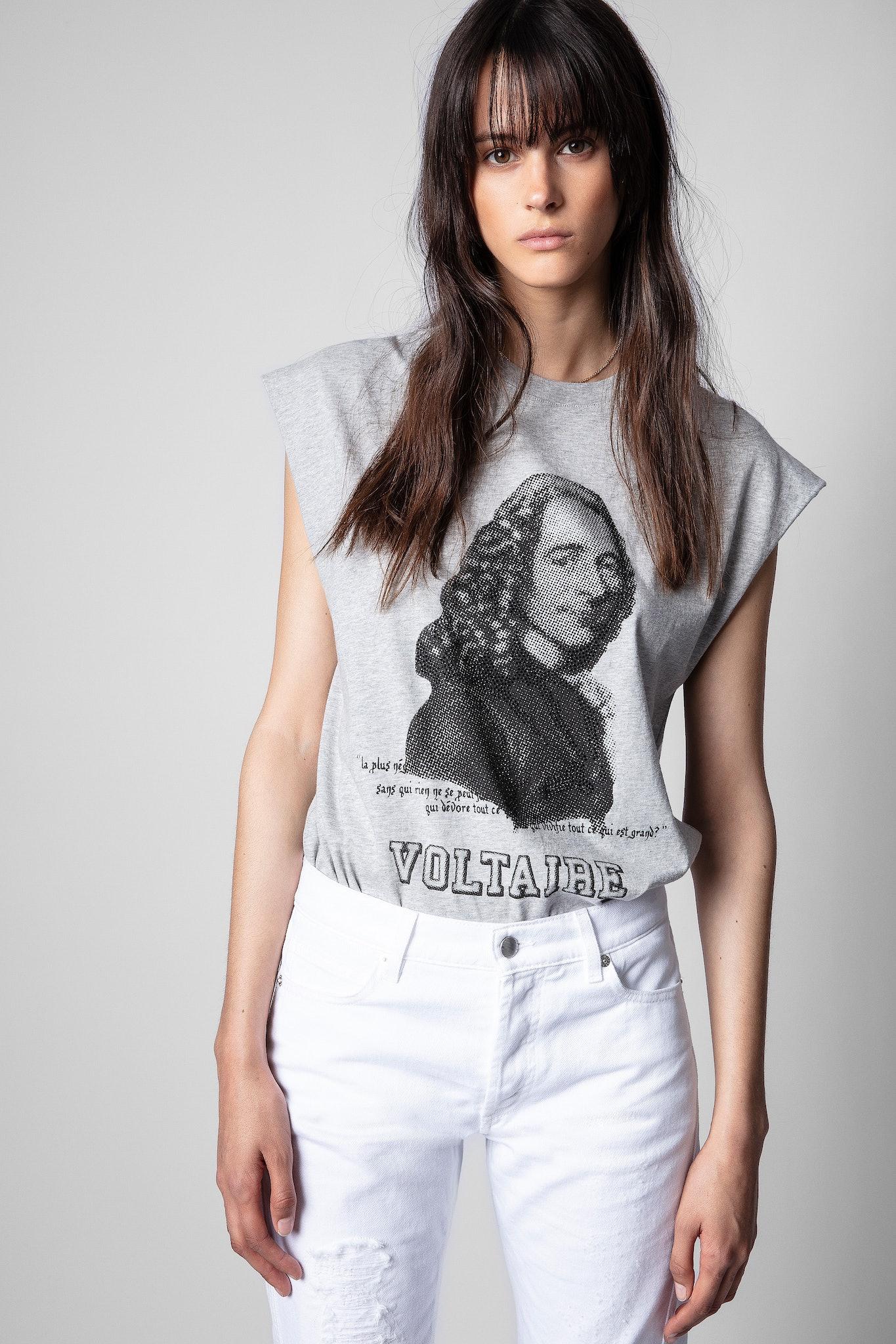 T-Shirt Cecilia Voltaire Strass
