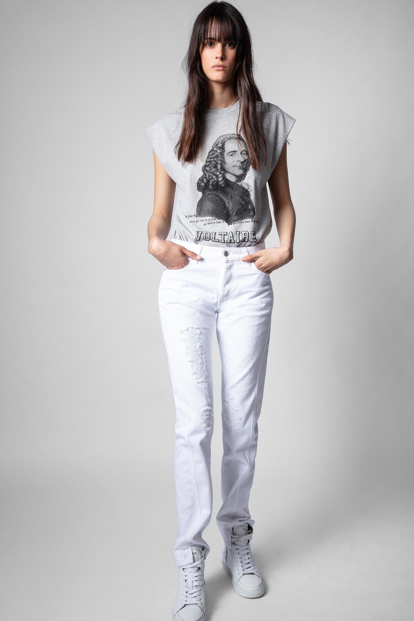 Cecilia Voltaire Strass T-Shirt