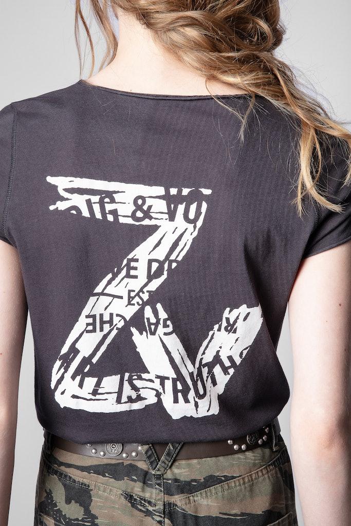 ZV Blason Henley T-shirt