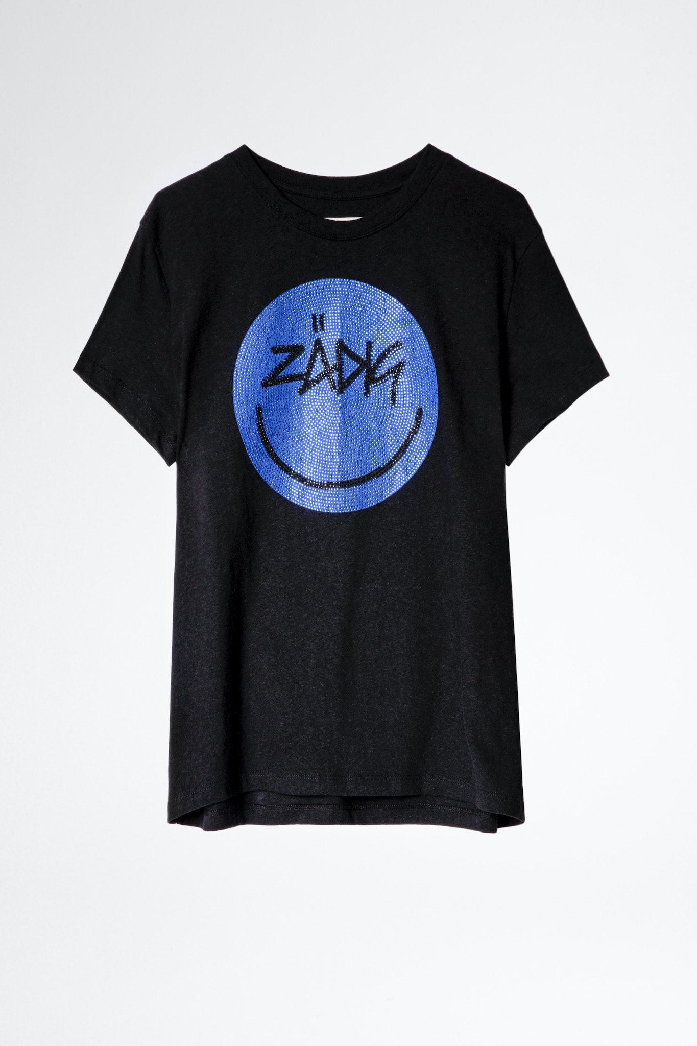 T-Shirt Zoe Happy Strass