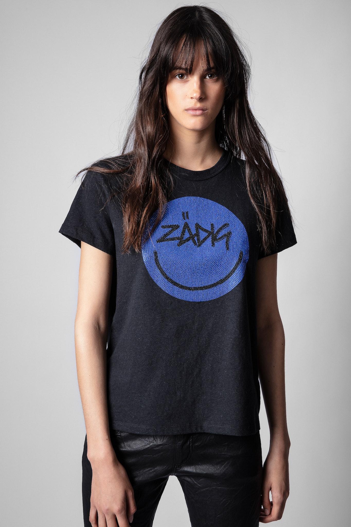Zoe Happy Strass T-Shirt
