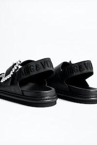 Sandales Alpha Grunge Metalic