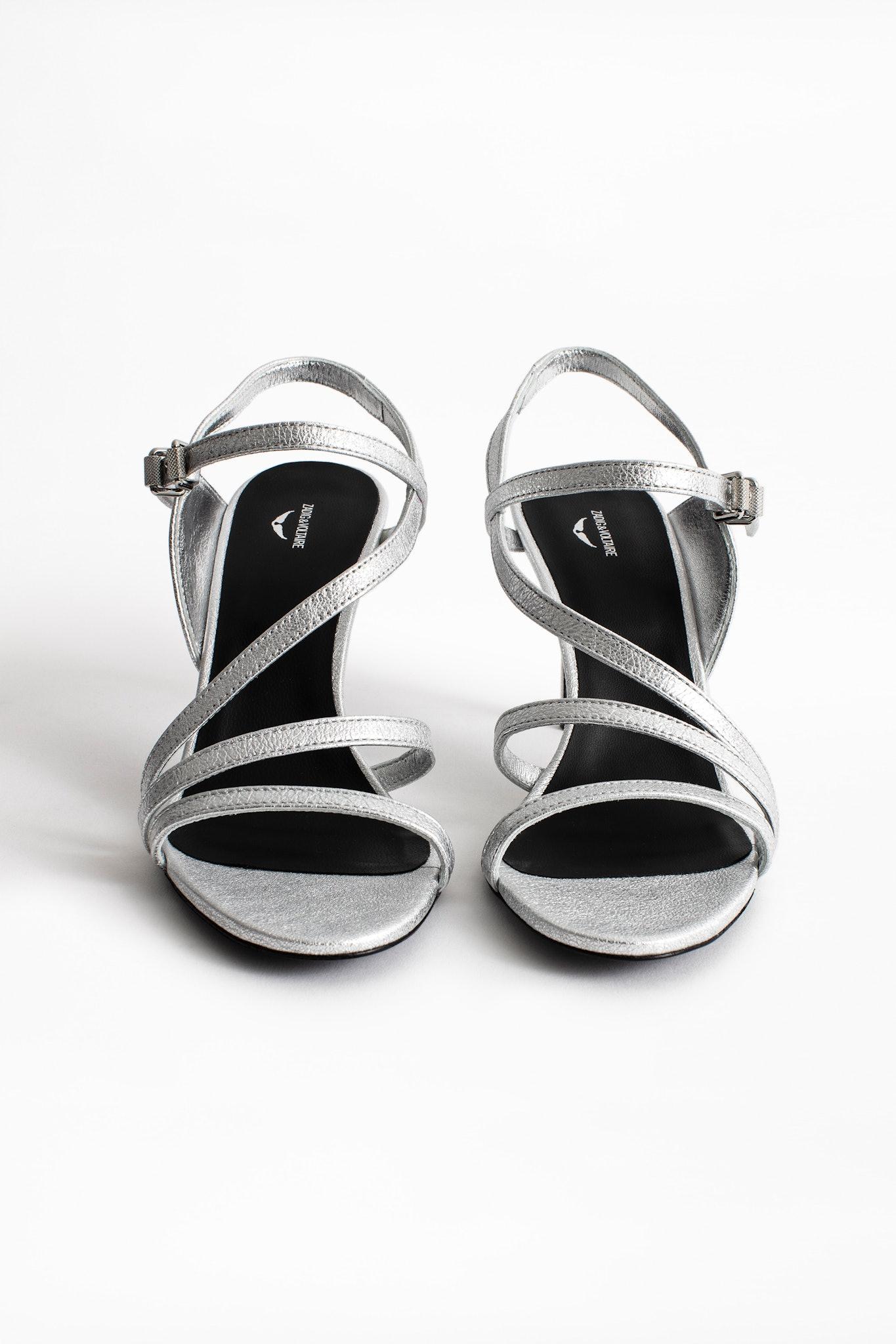 Sandales Marylin Metalic