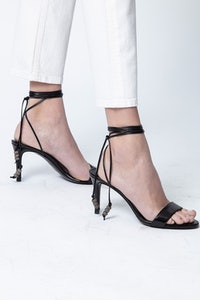 Marylin Laced Vintage Sandals