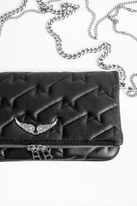 Rock ZV Quilted Clutch
