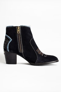 Bottines Molly Suede Jean