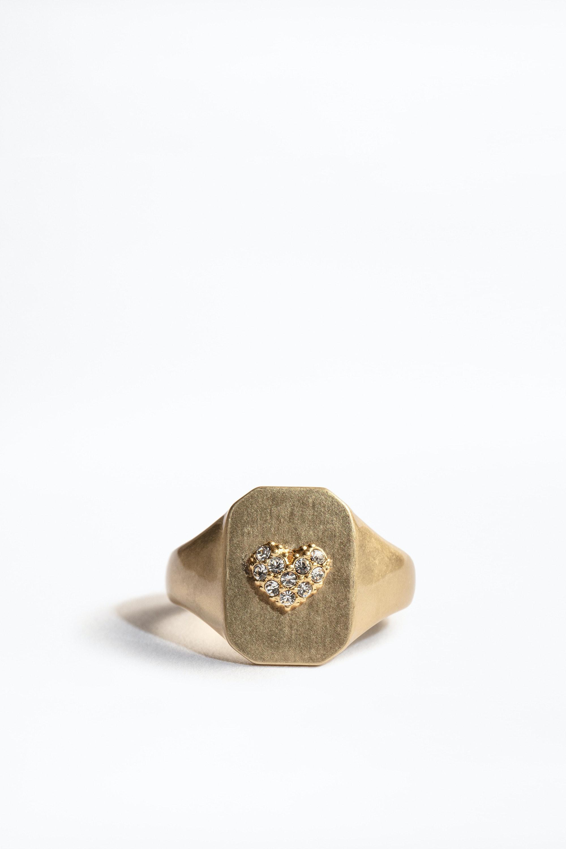 Heart Declaration Ring