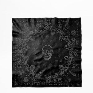 Foulard Bandy Paisley Leather
