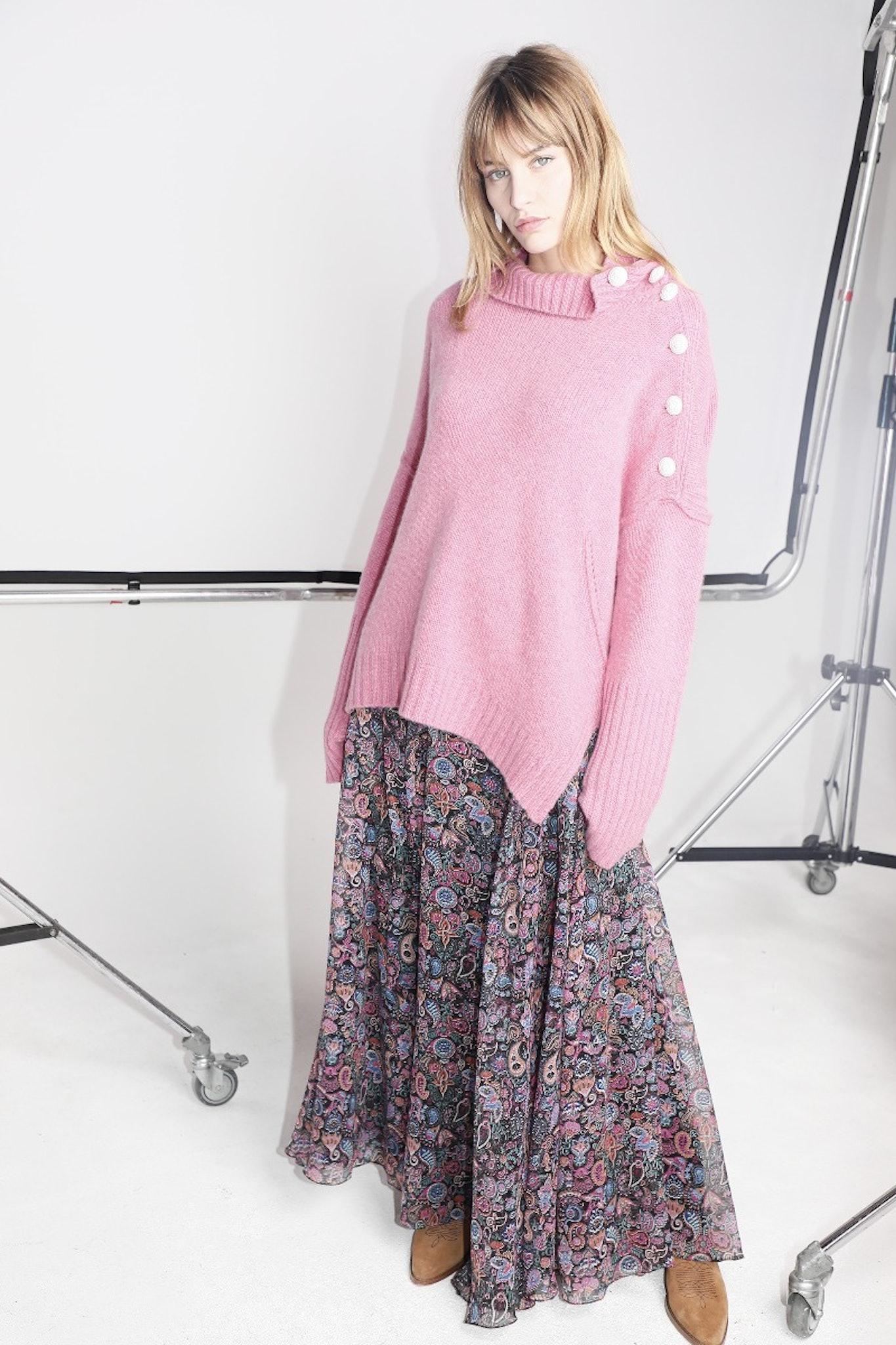 Joyo Long Print Mandala Skirt