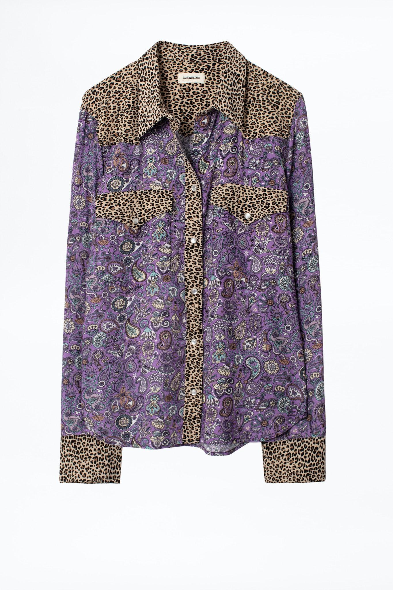 Camisa Thelma Mix Print