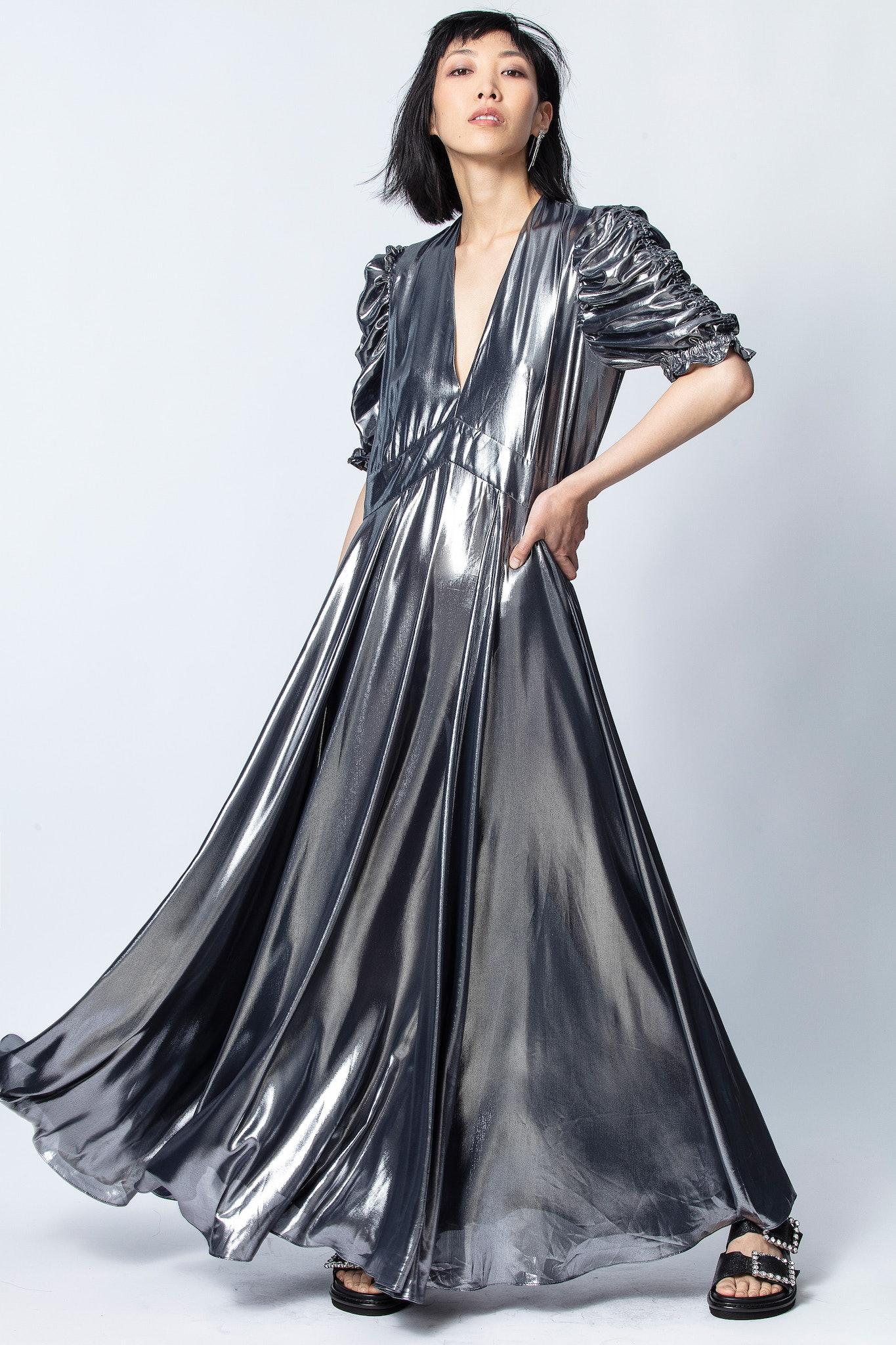 Kleid Roya Silver