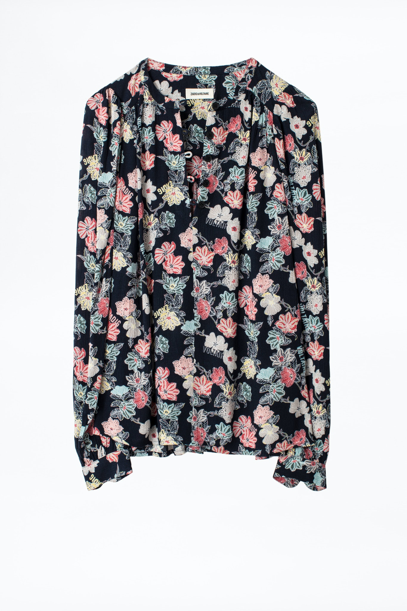 Tiffany Print Flower Tunic