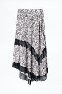 Julier Print Hortensia Skirt