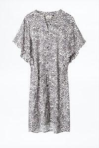 Vestido Rafix Print Hortensia