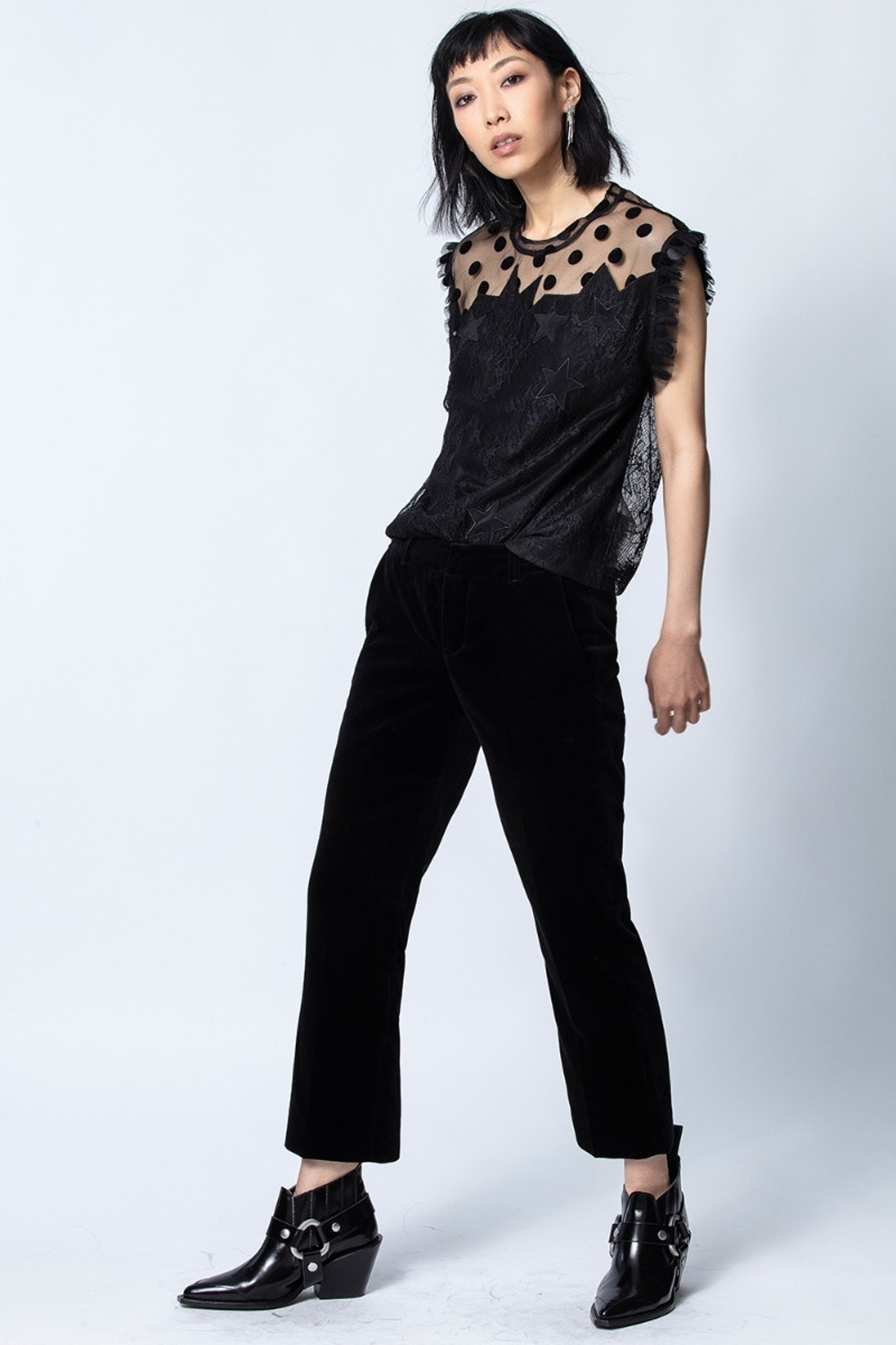 Top Tetro Lace