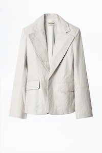 Vichy Leather Jacket