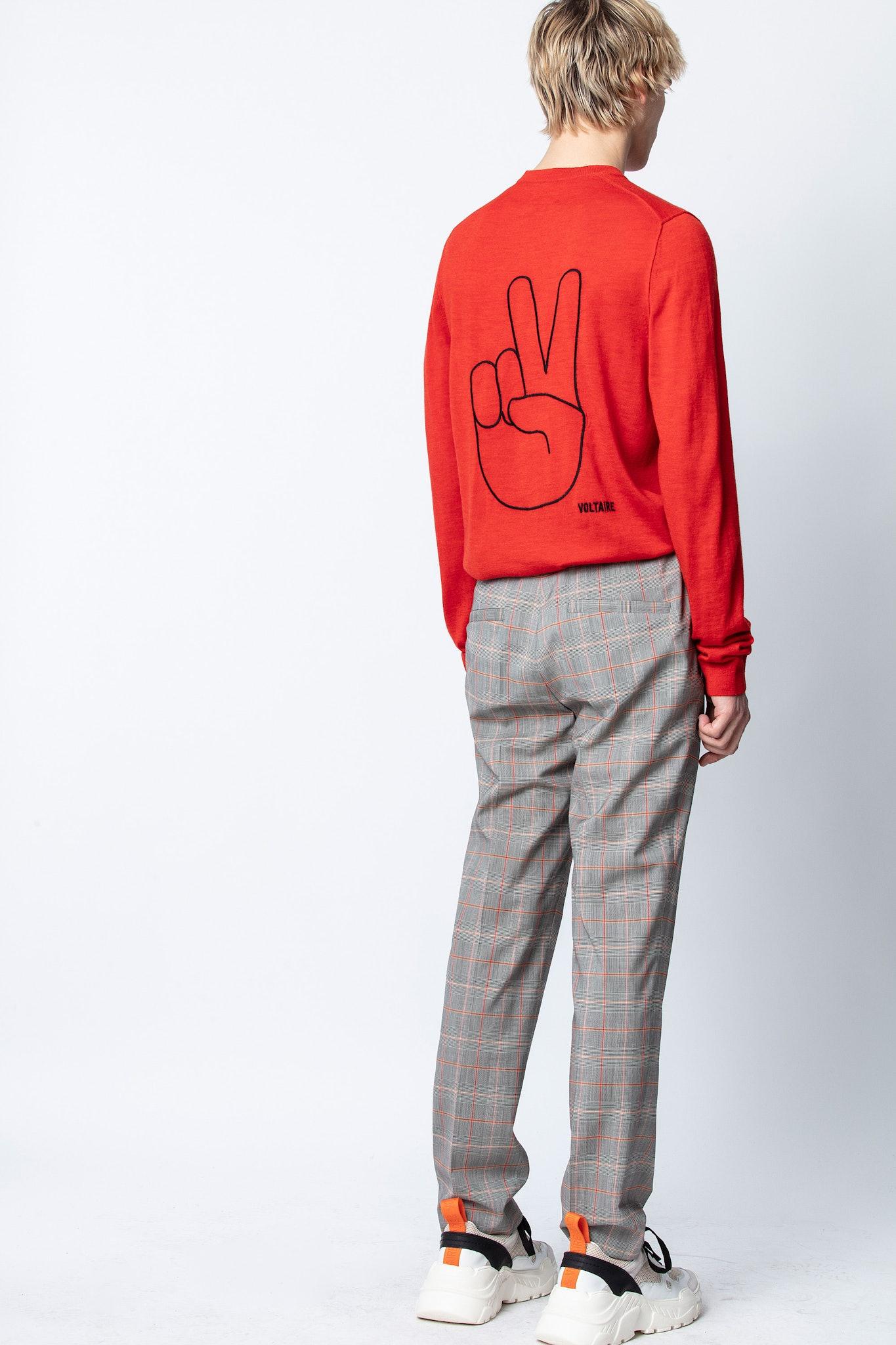 Kennedy Peace Sweater