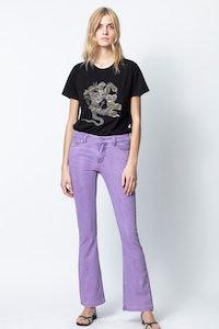 T-Shirt Aria Cannetille Snake Flower