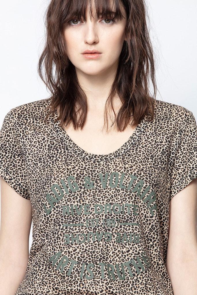 Camiseta Aretha Nano Leo Blason