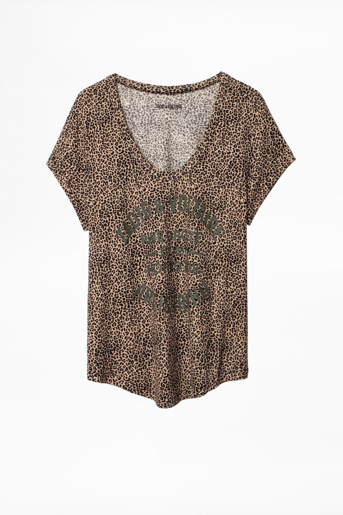 Aretha Nano Leo Blason T-shirt