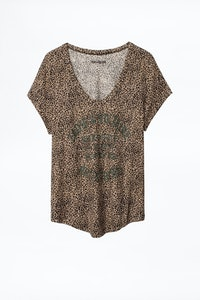 T-Shirt Aretha Nano Leo Blason
