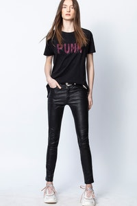 Camiseta Tom Punk 3D Strass
