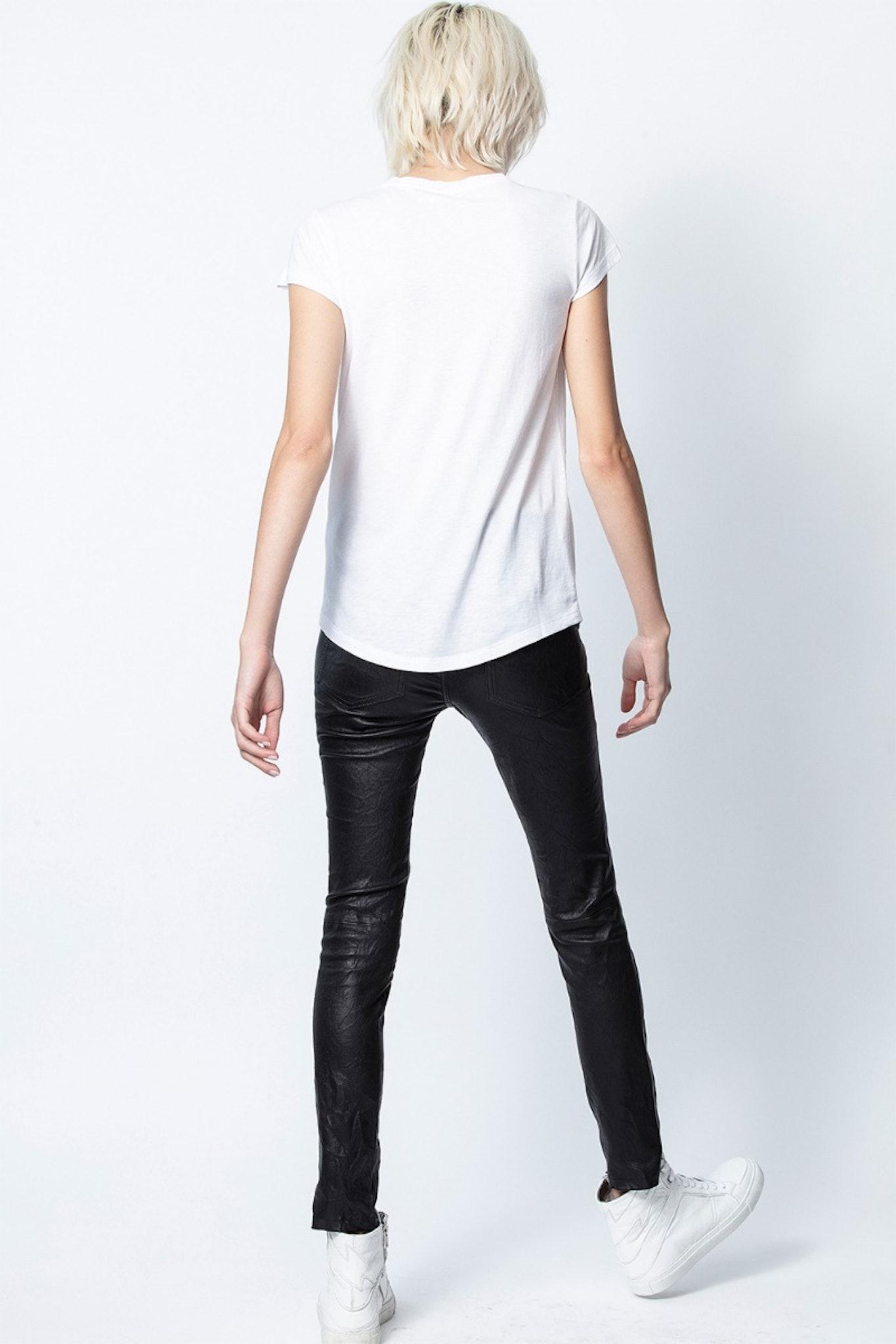 Camiseta Skinny Star Strass