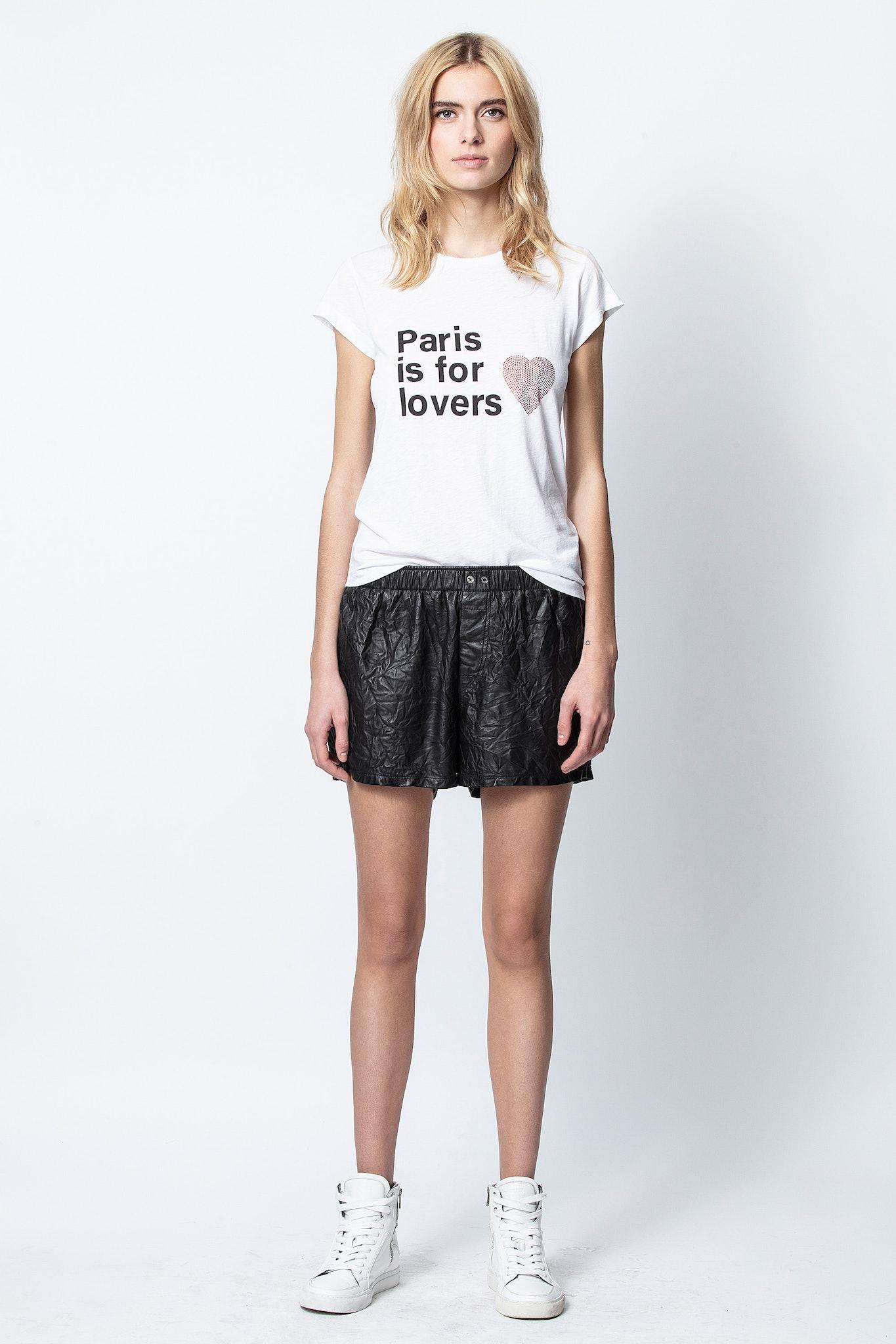 Skinny Paris Lovers T-Shirt