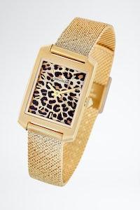 Leopard Printed Timeline Watch