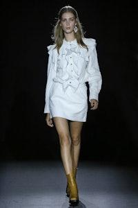 Ruskies Crinkle Leather Dress