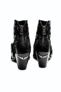 Cara Black Boots