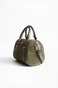 Bolso Xs Sunny Suede Patent