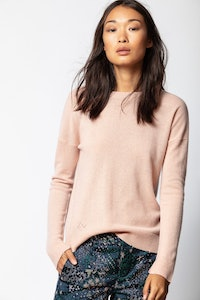 Pull Cici Cachemire Patch