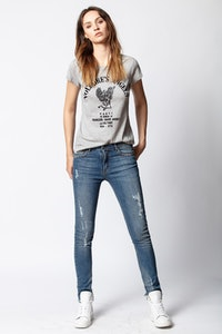 Skinny Voltaire Angels T-shirt
