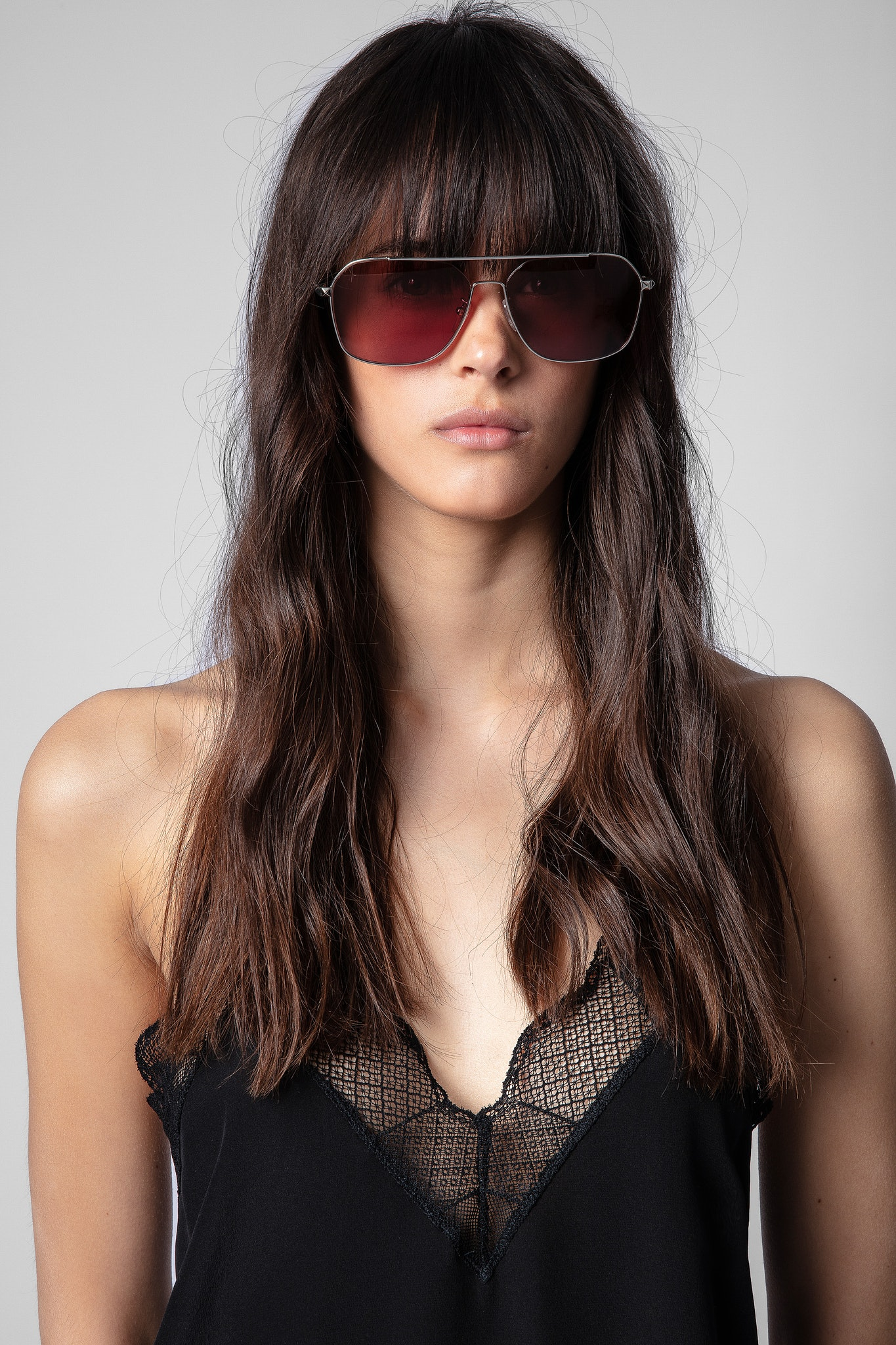 Lunettes Shiny Total Rose Gold