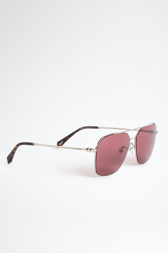 Sunglasses Shiny Total Rose Gold