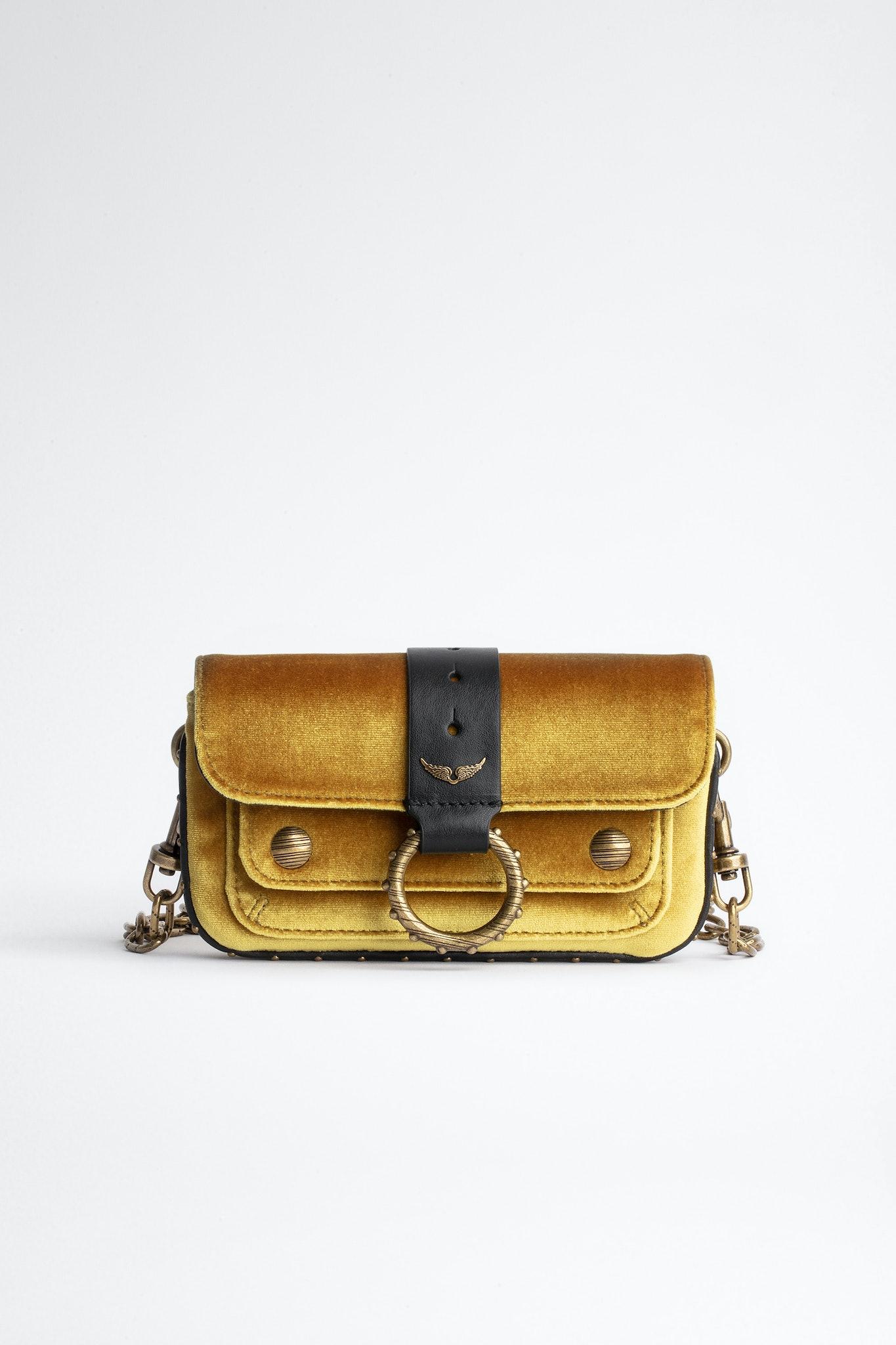 Kate Wallet Velvet Bag