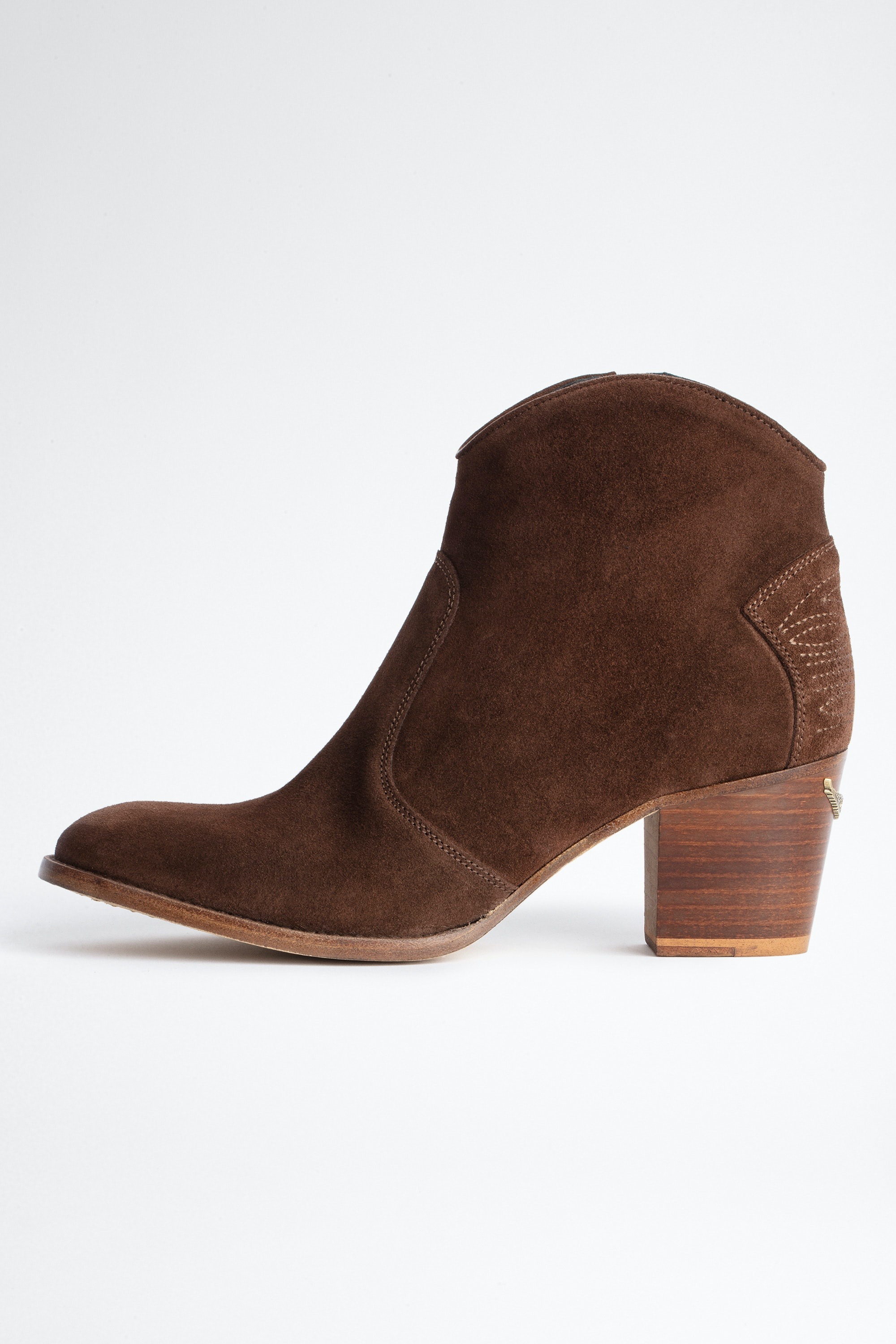 Molly Suede Ankle Boots