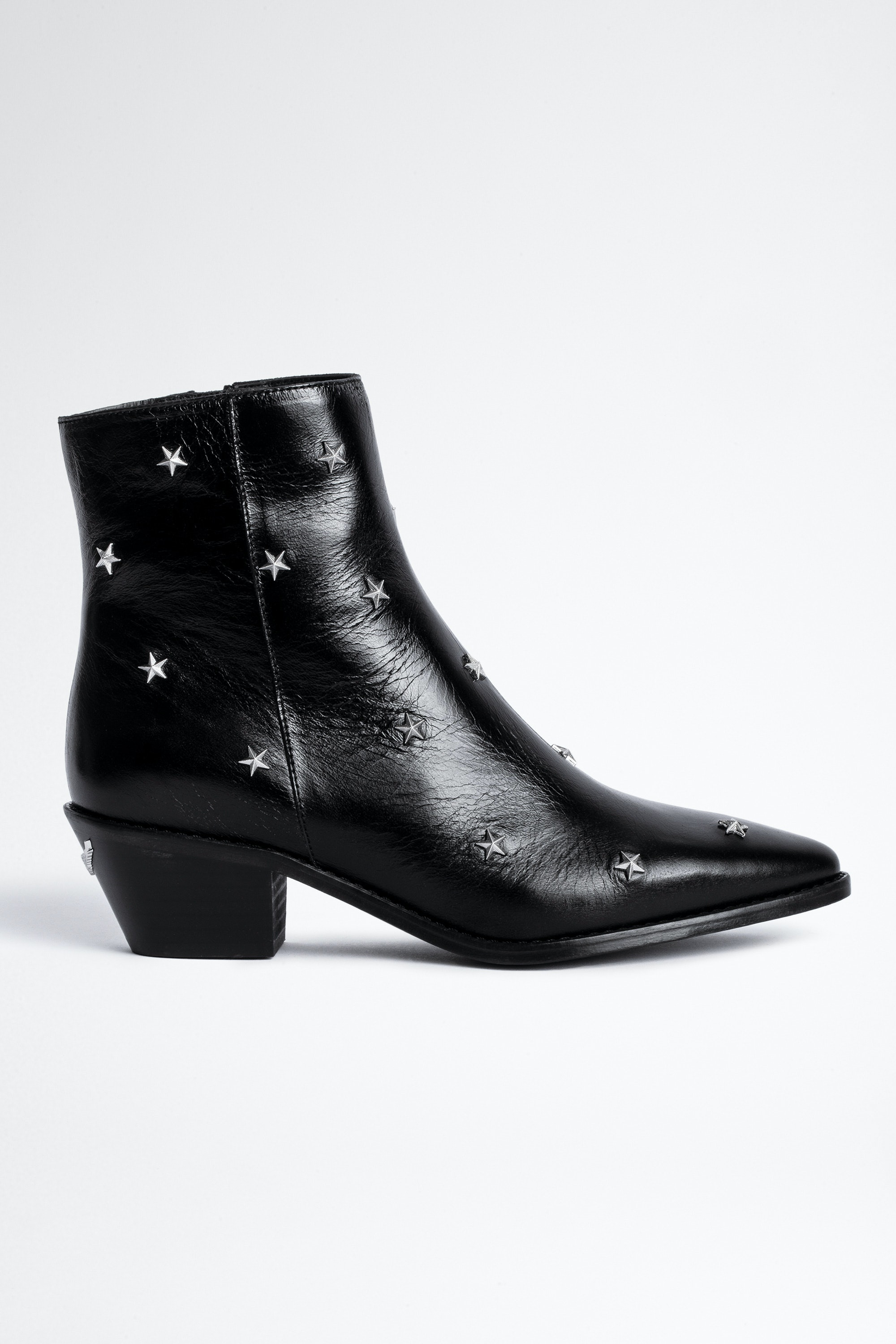 Tyler Vintage Stars Ankle Boots