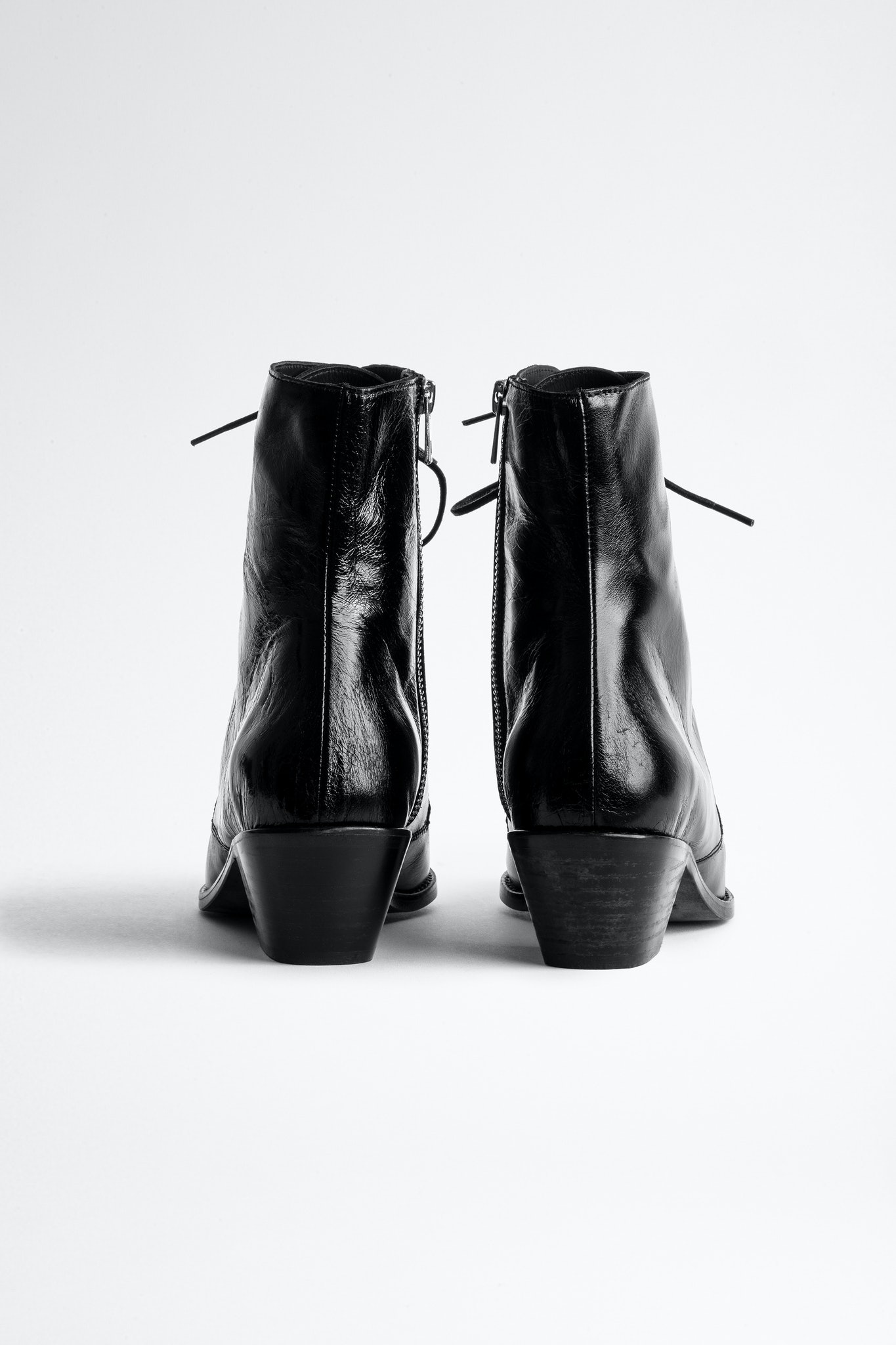 Tyler Laced Vintage Ankle Boots