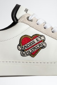 Sneakers ZV1747 Heart patch