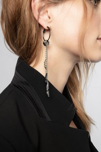 Mila Twist Mono Earring