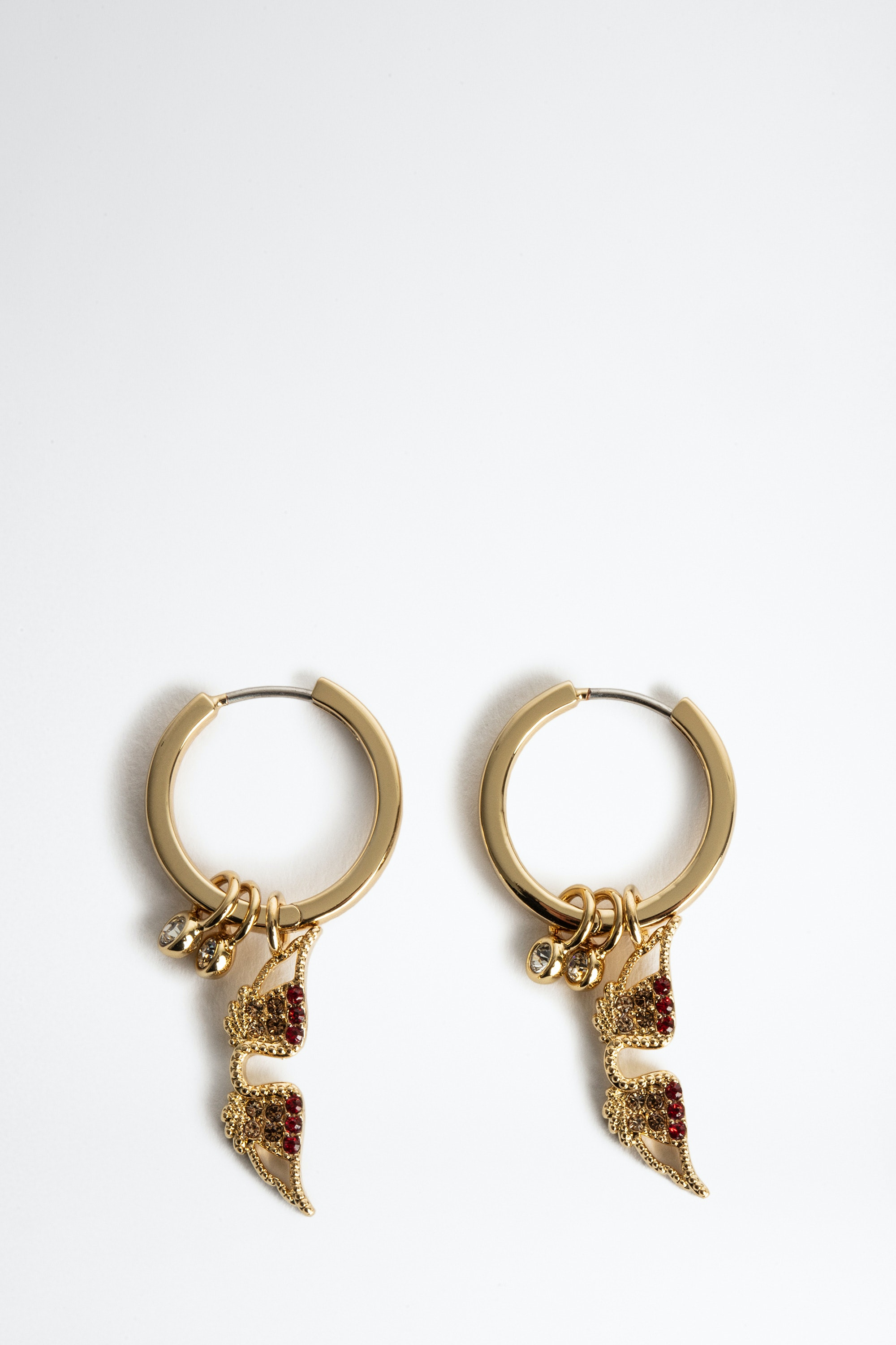 Mila Twist Hoop Earrings