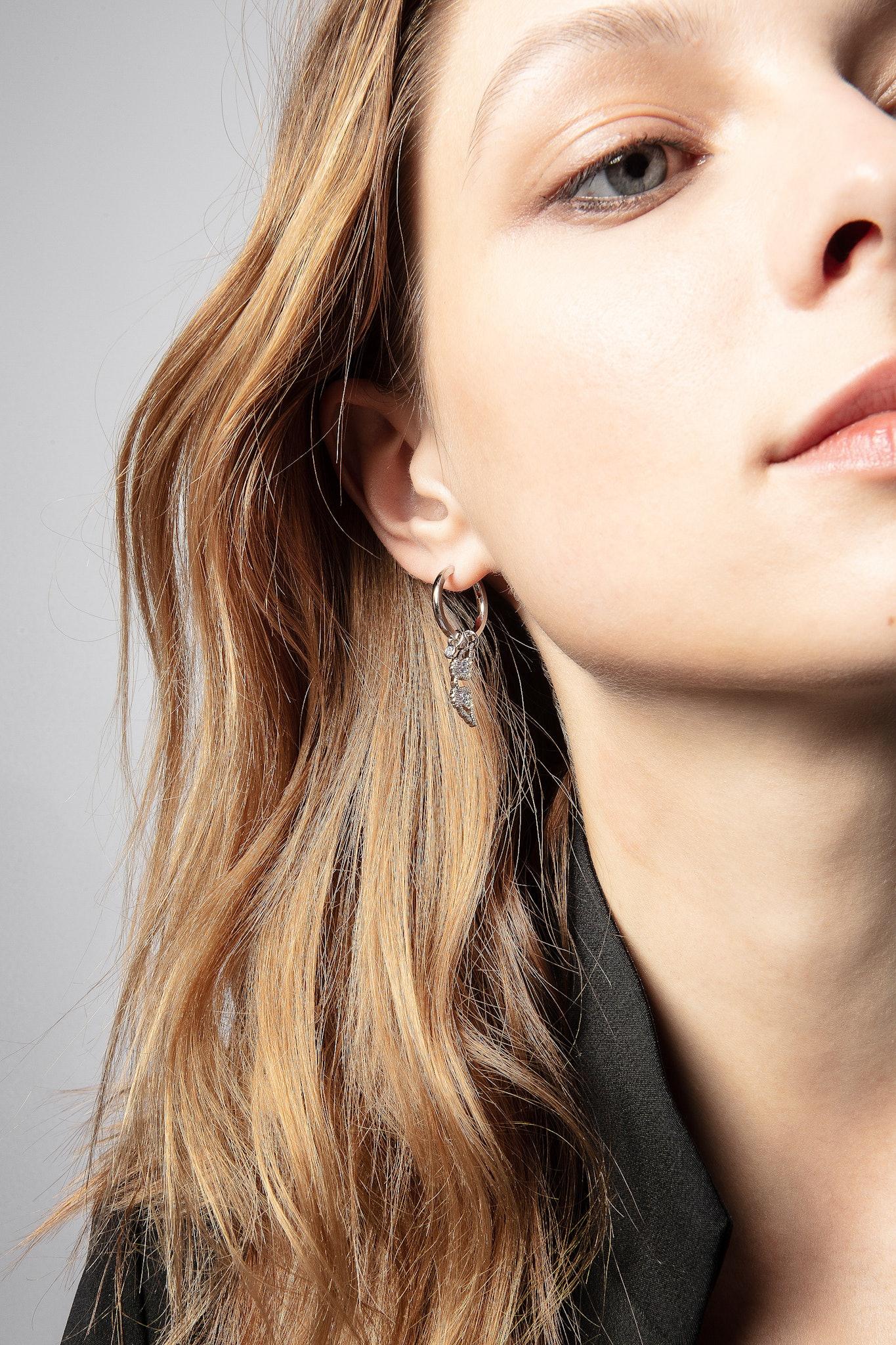 Mila Twist Hoop Earrings