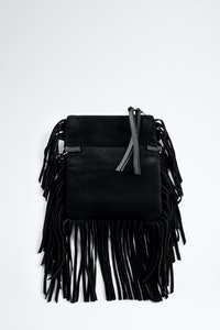 Rockson Nano Fringes Suede Bag