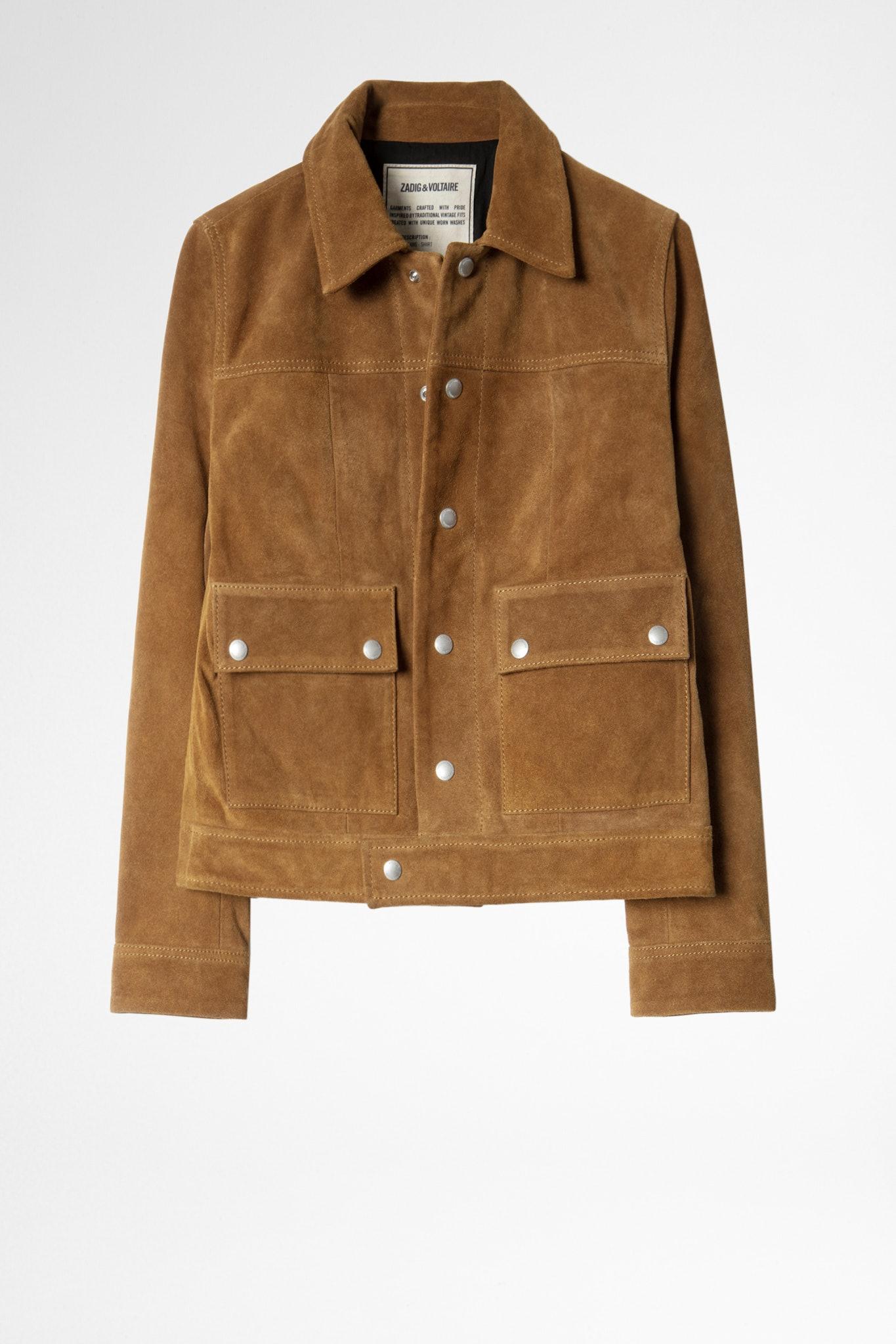 Light Suede Jacket