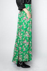 Joyo Print Roses Skirt