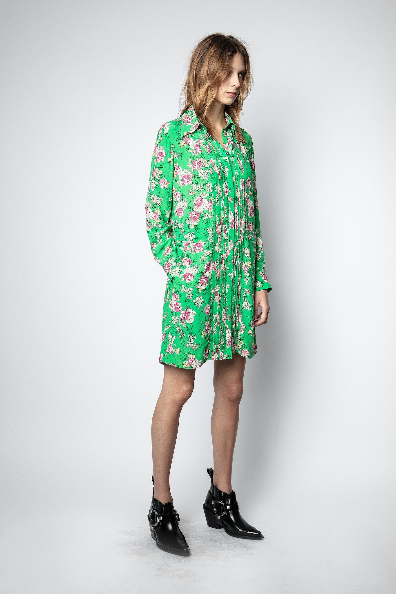 Kleid Rougi Print Roses