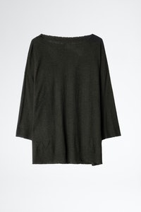 Pull Flint Patch Cachemire