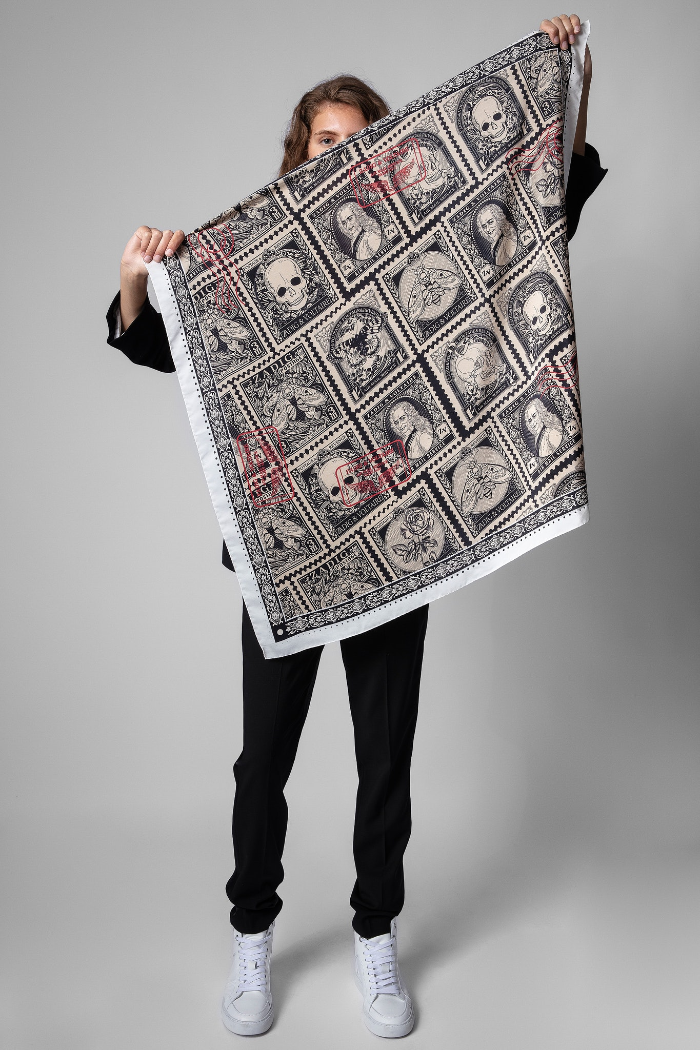 Lotty Stamp Scarf